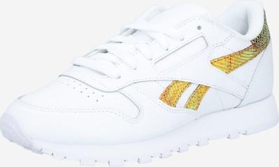 Reebok Classic Sneaker in gold / weiß, Produktansicht