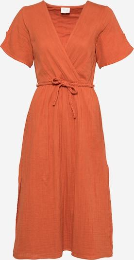 VILA Robe en rouge orangé, Vue avec produit