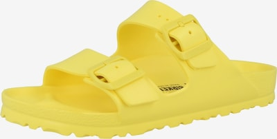 BIRKENSTOCK Mule en jaune, Vue avec produit