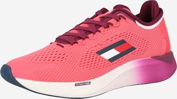 Tommy Sport Urheilukengät 'ELITE RACER' värissä vaaleanpunainen