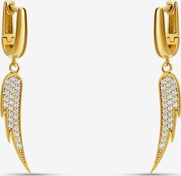 MOSUO JEWELLERY Σκουλαρίκια 'Goddess' σε χρυσό