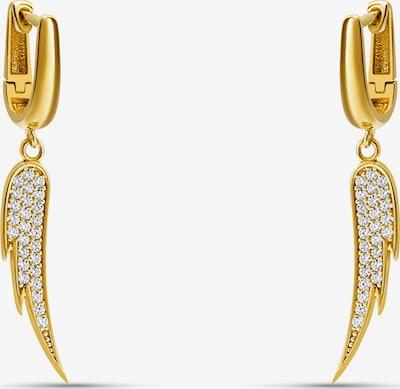 MOSUO JEWELLERY Σκουλαρίκια 'Goddess' σε χρυσό / διαφανές, Άποψη προϊόντος