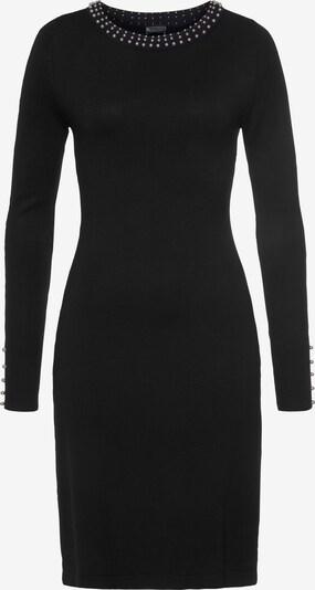 LAURA SCOTT Strickkleid in schwarz, Produktansicht
