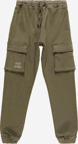 Pantalon 'JUSTIN' Pepe Jeans en vert