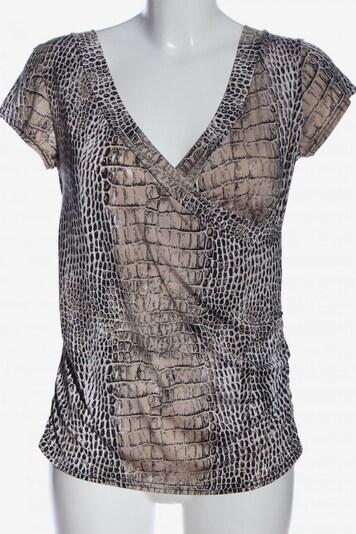 Bea Tricia Kurzarm-Bluse in M in schwarz / wollweiß, Produktansicht