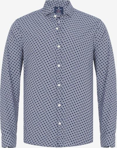 Jimmy Sanders Hemd in navy / weiß, Produktansicht