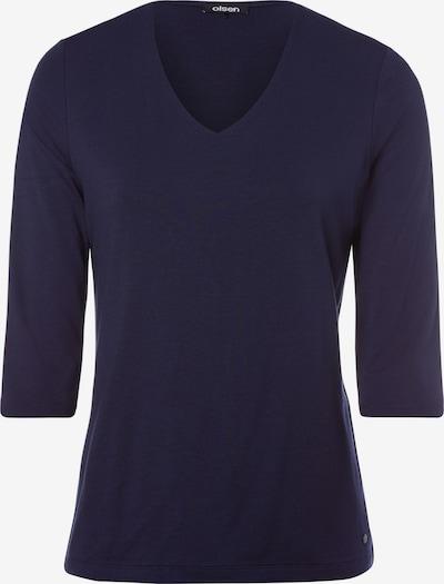 Olsen Shirt in navy, Produktansicht