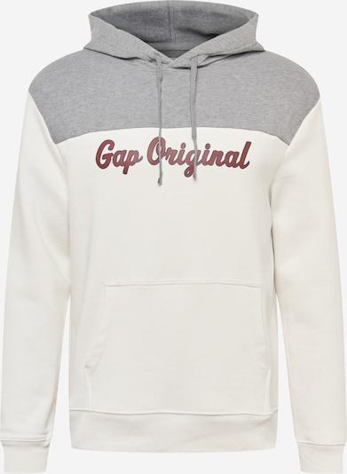 GAP Sweatshirt in Grey / White, Item view