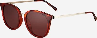 LE SPECS Solglasögon i brun / guld, Produktvy