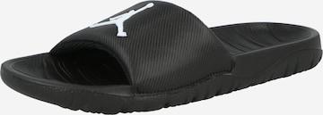 Claquettes / Tongs 'Break' Jordan en noir