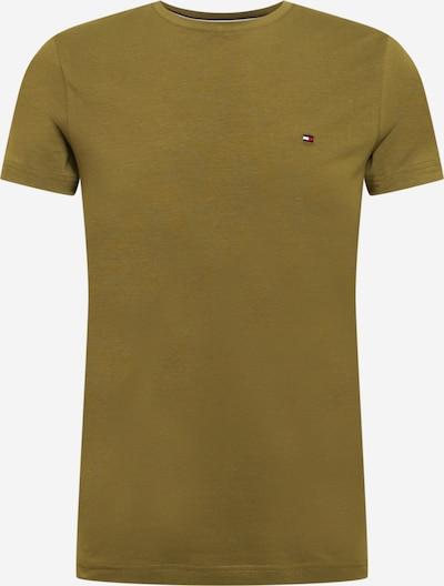 TOMMY HILFIGER T-Shirt en olive / rouge clair / blanc, Vue avec produit