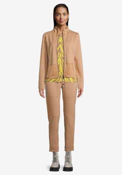 Betty Barclay Shirtjacke in beige / silber, Modelansicht