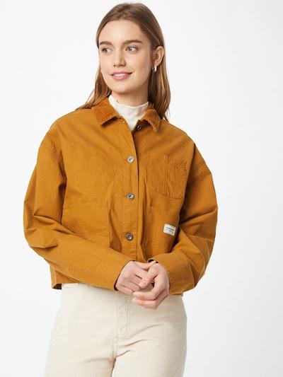 CONVERSE Prehodna jakna 'CHORE'   svetlo rjava barva: Frontalni pogled