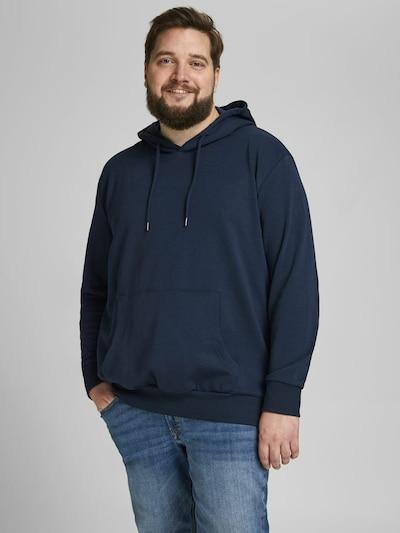 Jack & Jones Plus Sweatshirt in dunkelblau: Frontalansicht