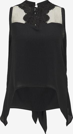 faina Spitzentop in schwarz, Produktansicht