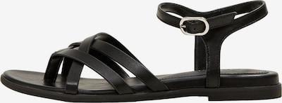 ESPRIT Sandale in schwarz / silber, Produktansicht