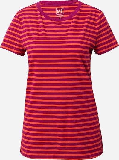 GAP Тениска в бургундово червено / оранжево-червено, Преглед на продукта