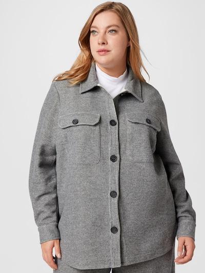 MY TRUE ME Blouse in mottled grey, View model