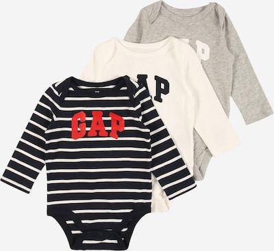 GAP Dječji bodi u mornarsko plava / siva melange / crvena / bijela, Pregled proizvoda