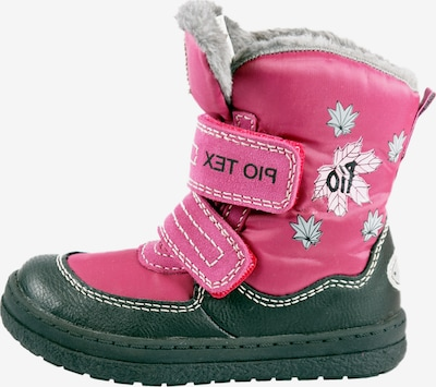 Pio Snowboots 'Pio mit Klettverschluss' in pink, Produktansicht