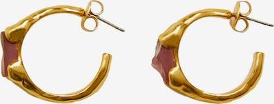 MANGO Náušnice 'LIMANIA' - zlatá / růže, Produkt