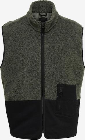 Only & Sons Vest 'Milton' in Black
