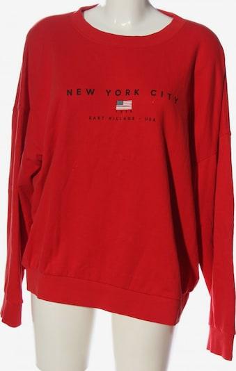 Gina Tricot Sweatshirt in XL in rot, Produktansicht
