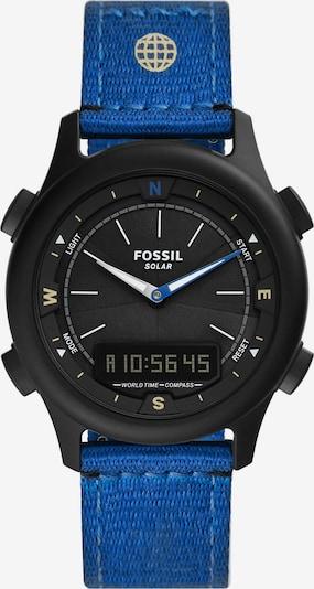 FOSSIL Uhr in blau / schwarz, Produktansicht