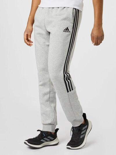 Pantaloni sportivi ADIDAS PERFORMANCE di colore grigio sfumato / nero, Visualizzazione modelli