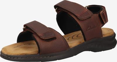 CLARKS Sandale in kastanienbraun, Produktansicht