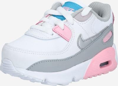 Nike Sportswear Tenisice 'Air Max 90' u siva melange / svijetloroza / bijela, Pregled proizvoda