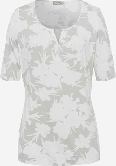 Uta Raasch Rundhals-Shirt halbarm in beige / ecru / weiß / naturweiß, Produktansicht