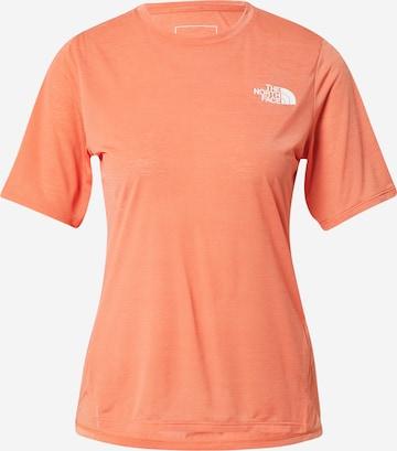 THE NORTH FACE Funksjonsskjorte i oransje