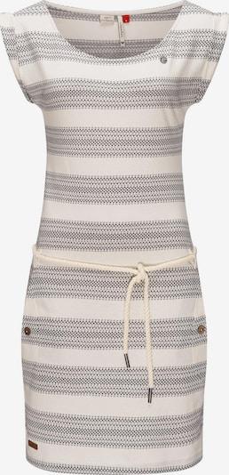 Ragwear Kleid in beige / grau, Produktansicht