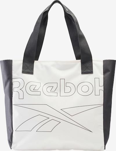 REEBOK Sporttasche in schwarz / weiß, Produktansicht