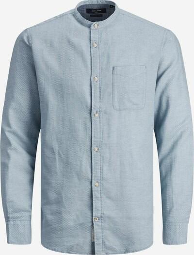 Camicia JACK & JONES di colore blu chiaro / bianco, Visualizzazione prodotti