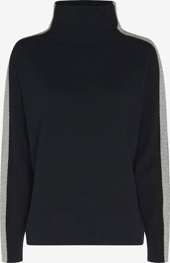 TOMMY HILFIGER Pullover in dunkelblau / schwarz / weiß, Produktansicht
