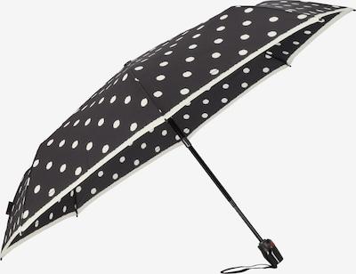 KNIRPS Regenschirm 'T.200' in schwarz / weiß, Produktansicht