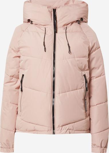 khujo Jacke 'Esila' in pink / schwarz, Produktansicht
