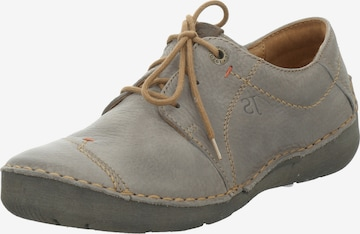 JOSEF SEIBEL Lace-Up Shoes 'Fergey 20' in Grey