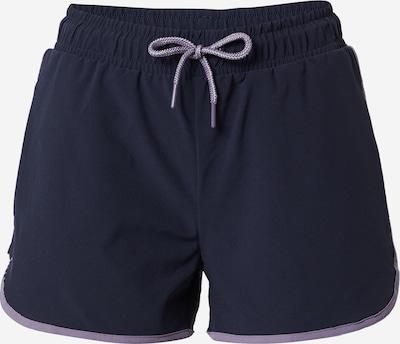 ESPRIT SPORT Spodnie sportowe w kolorze granatowy / jasnofioletowym, Podgląd produktu