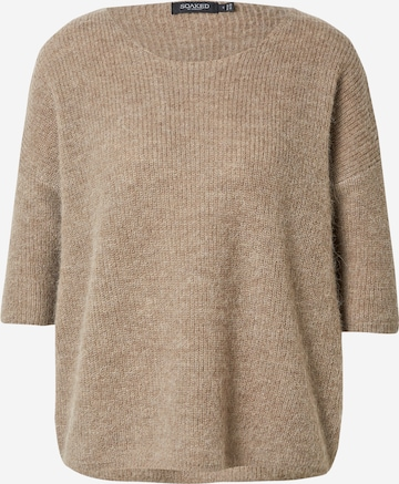 SOAKED IN LUXURY Pullover  'Tuesday' in Braun