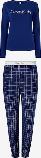 Calvin Klein Underwear Pyjama in kobaltblau / grau / weiß, Produktansicht