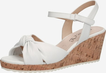 CAPRICE Sandals in White