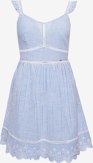 Superdry Kleid 'Gia' in hellblau / weiß, Produktansicht