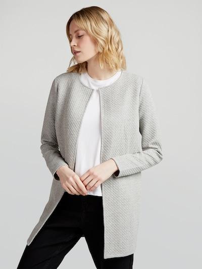 VILA Knitted coat 'Vinaja' in mottled grey, View model