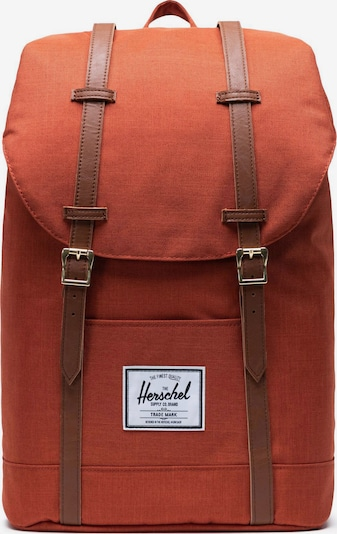 Herschel Rucksack 'Retreat' in orange, Produktansicht
