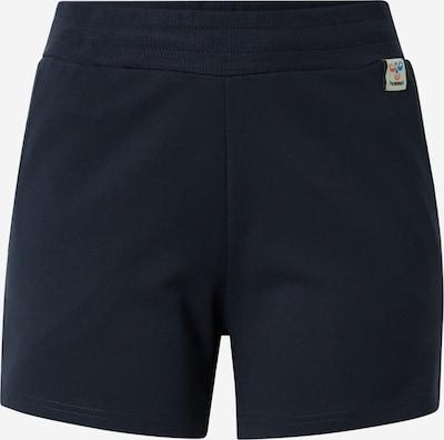 Hummel Pantalón deportivo en azul oscuro / blanco, Vista del producto