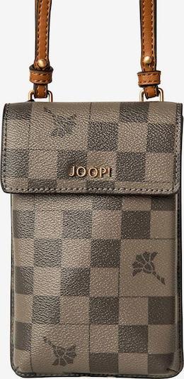 JOOP! Protection pour smartphone en noisette / gris foncé, Vue avec produit