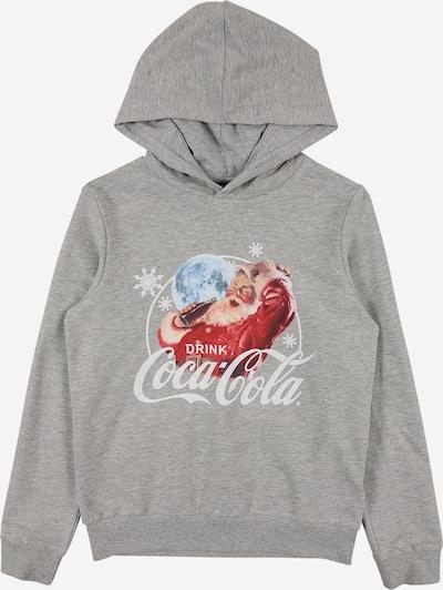 LMTD Sudadera 'COCACOLA' en gris / mezcla de colores, Vista del producto